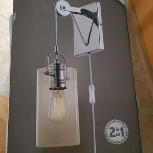 Other - NEW Globe Nordhaven Plug-in wall sconce